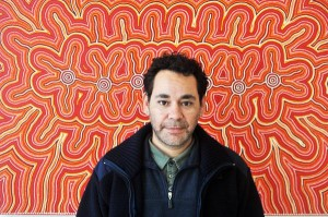 The first indigenous artist to have an exhibition at the Louis Joel Arts and Community Centre.  All apart of NAIDOC week 2013