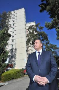 Labor MP Cesar Melhem warns public housing rent could be increased by more than $2000 per year