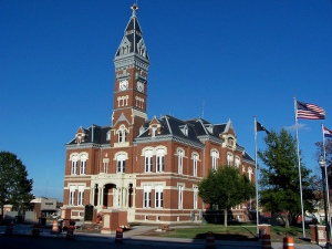 Nodaway County Courthouse, Maryville, Missouri, USA. Image: courthouselover/Flickr